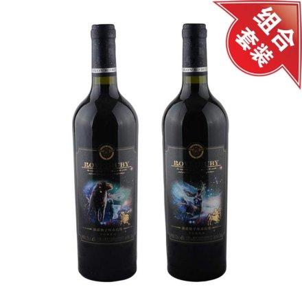澜爵狮子座+射手座赤霞珠干红葡萄酒