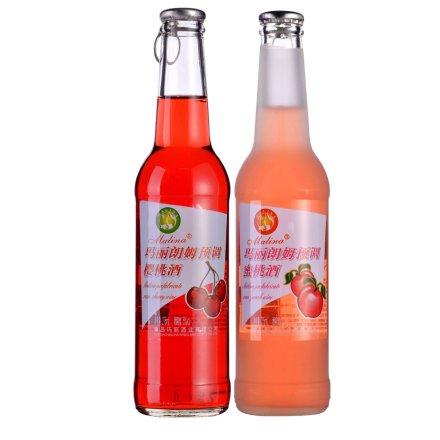 玛丽朗姆预调酒(蜜桃+樱桃)