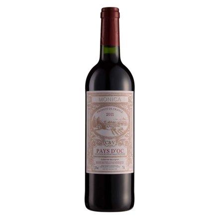 【清仓】法国莫兰卡赤霞珠红葡萄酒750ml
