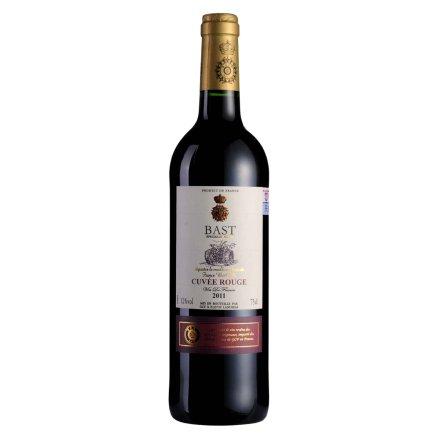 【清仓】法国伯斯特精酿干红葡萄酒750ml