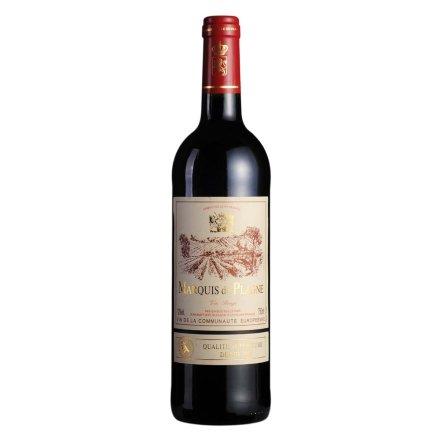 法国伯莱尼侯爵干红葡萄酒750ml