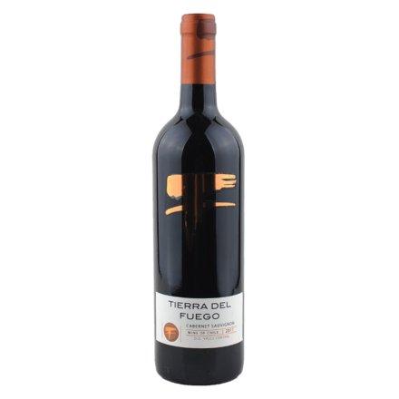 智利火地岛经典赤霞珠红葡萄酒
