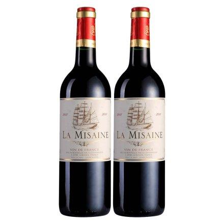 法国龙船天禧干红750ml(双瓶装)
