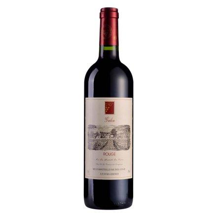 【清仓】法国盖伦红葡萄酒750ml
