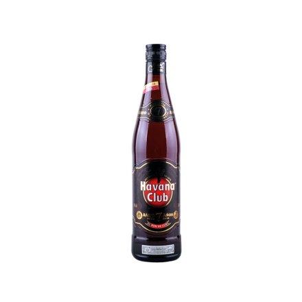 40°古巴哈瓦纳俱乐部朗姆酒7年陈酿朗姆酒之王750ml