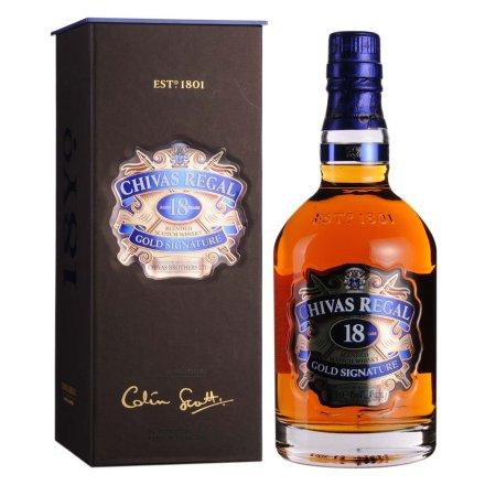 40°英国芝华士18年苏格兰威士忌700ml