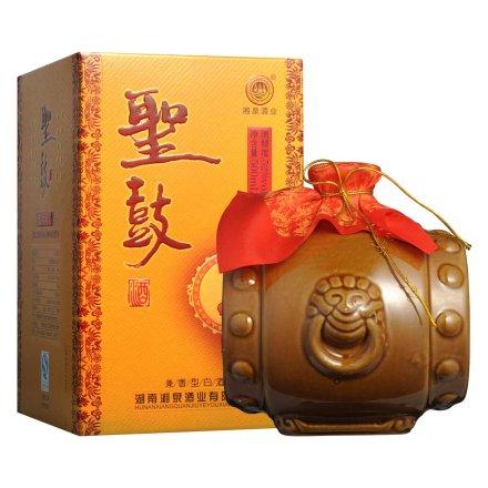 52°湖南湘泉酒业(金)圣鼓酒500ml
