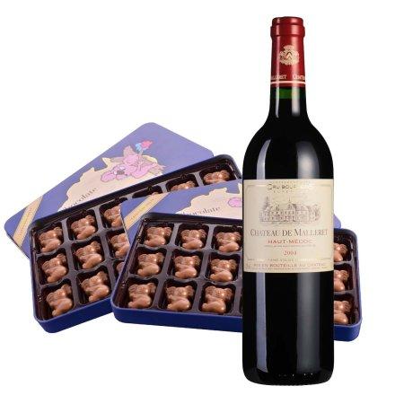法国玛蕾古堡红酒+考拉巧克力*2
