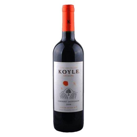 【清仓】智利柯莱窖藏赤霞珠干红葡萄酒750ml