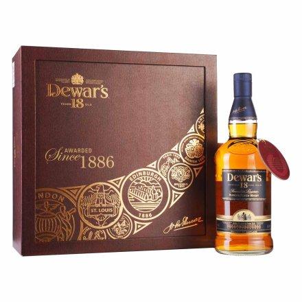 40°英国帝王18年混合苏格兰威士忌礼盒装750ml