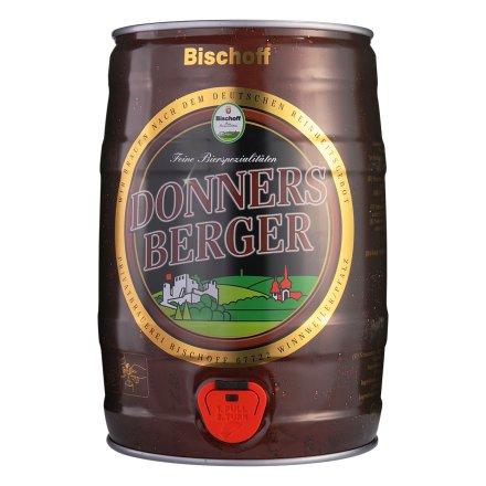 德国精灵堡黑啤酒5L