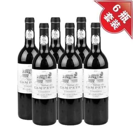 法国狄斯干红葡萄酒(6瓶装)