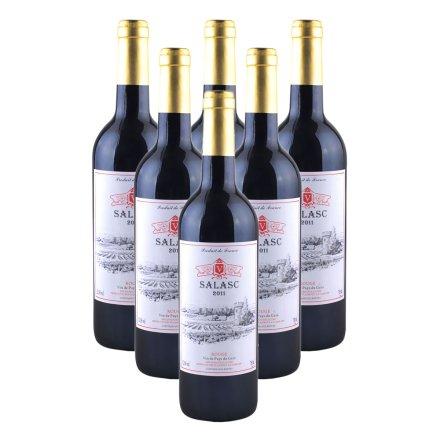 法国萨拉斯干红葡萄酒(6瓶装)重复勿用