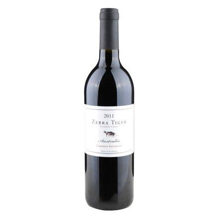 【清仓】澳大利亚斑马虎赤霞珠干红葡萄酒750ml