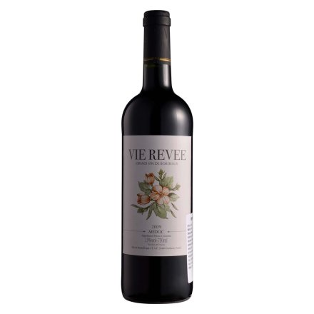 法国Vie revee留醉干红葡萄酒750ml