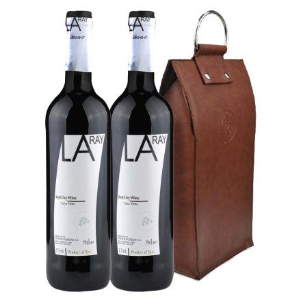 西班牙拉瑞干红葡萄酒双支皮袋装