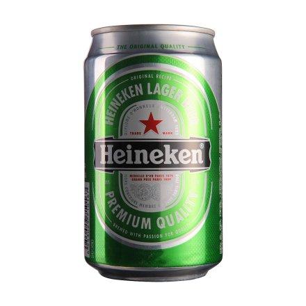 【清仓】喜力啤酒330ml