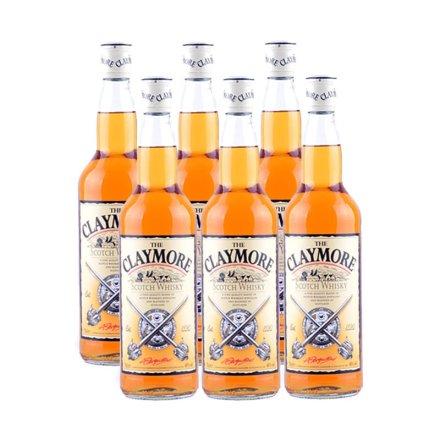 40°剑威苏格兰威士忌700ml(6瓶装)