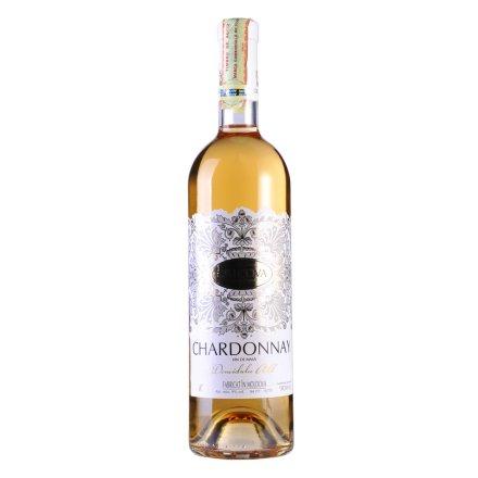 摩尔多瓦·克里克瓦酒庄花边系列霞多丽半甜白葡萄酒(促销品)