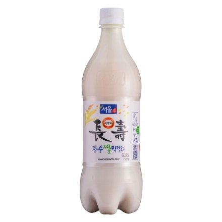 6°韩国首尔长寿马可丽米酒750ml