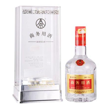 52°商务用酒水晶瓶500ml