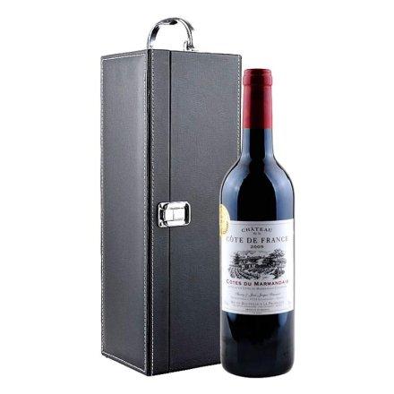 法国科德法兰西堡红葡萄酒礼盒