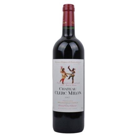 【清仓】法国木桐米隆干红葡萄酒2007 法国波尔多列级酒庄酒