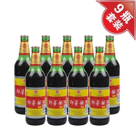 (清仓)8.5°即墨黄酒祥和470ml(9瓶装)