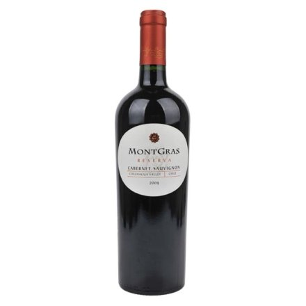 智利嘉斯山珍藏加本纳沙威浓红葡萄酒