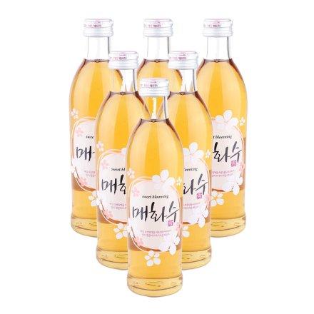 14°梅花秀酒(果子酒)300ml 6瓶装