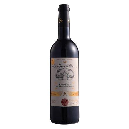 【清仓】法国菩提博耶城堡华章系列干红葡萄酒750ml