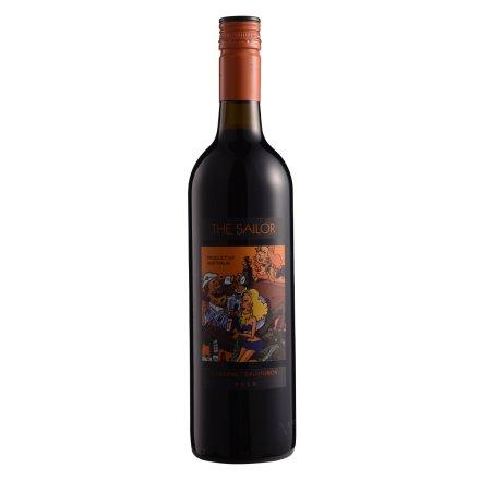 【清仓】12.5°詹姆士欢乐水手2010卡本纳干红葡萄酒750ml
