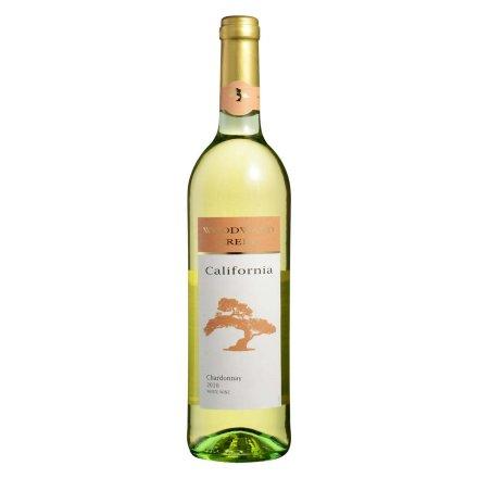 美国伍顿沃德湾霞多丽白葡萄酒750ml
