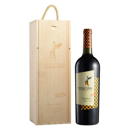 法国法莱雅酒堡至尊西拉干红葡萄酒