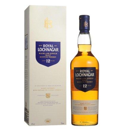 40°皇家蓝勋12年单一麦芽苏格兰威士忌700ml