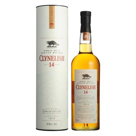 46°克里尼利基14年单一麦芽苏格兰威士忌700ml