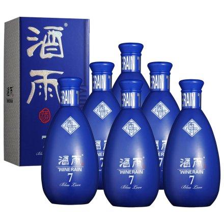 53°酒雨蓝色的爱7 500ml(6瓶装)