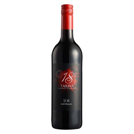 【清仓】澳大利亚福瑞娜18号赤霞珠干红葡萄酒750ml