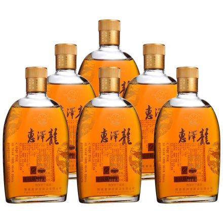 11°惠泽龙金标六年陈500ml(6瓶装)