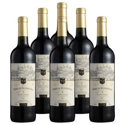 法国莫蕾尔干红葡萄酒750ml(6瓶装)重复勿用