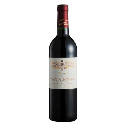 【清仓】法国圣时珍藏红葡萄酒750ml