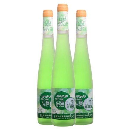 5°东名驰浪漫之夜苹果酒375ml(3瓶装)