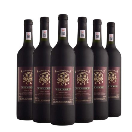 友谊地久天长赤霞珠干红葡萄酒750ml(6瓶装)