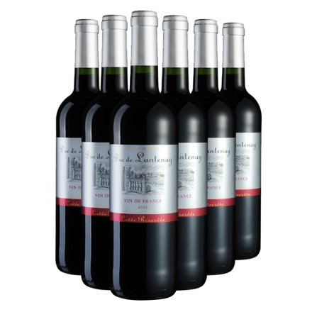 法国朗特公爵干红葡萄酒750ml(6瓶装)