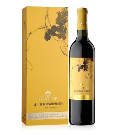 中国通天晚收高级山葡萄酒