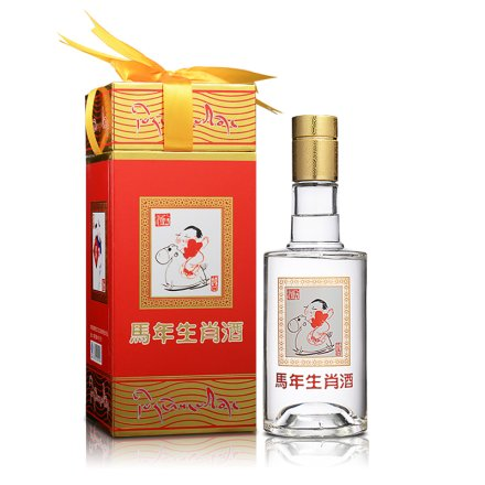 【清仓】52°藏羚羊生肖酒300ml