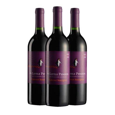 澳大利亚小企鹅赤霞珠红葡萄酒(3瓶装)