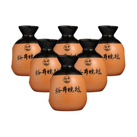 38°裕井烧坊小酒篓250ml(6瓶装)