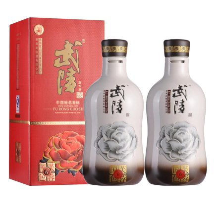 52°武陵芙蓉国色6 500ml(2瓶装)