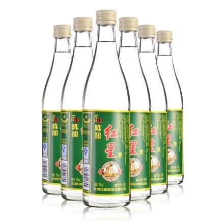 39°红星精制五年陈酿500ml(6瓶装)